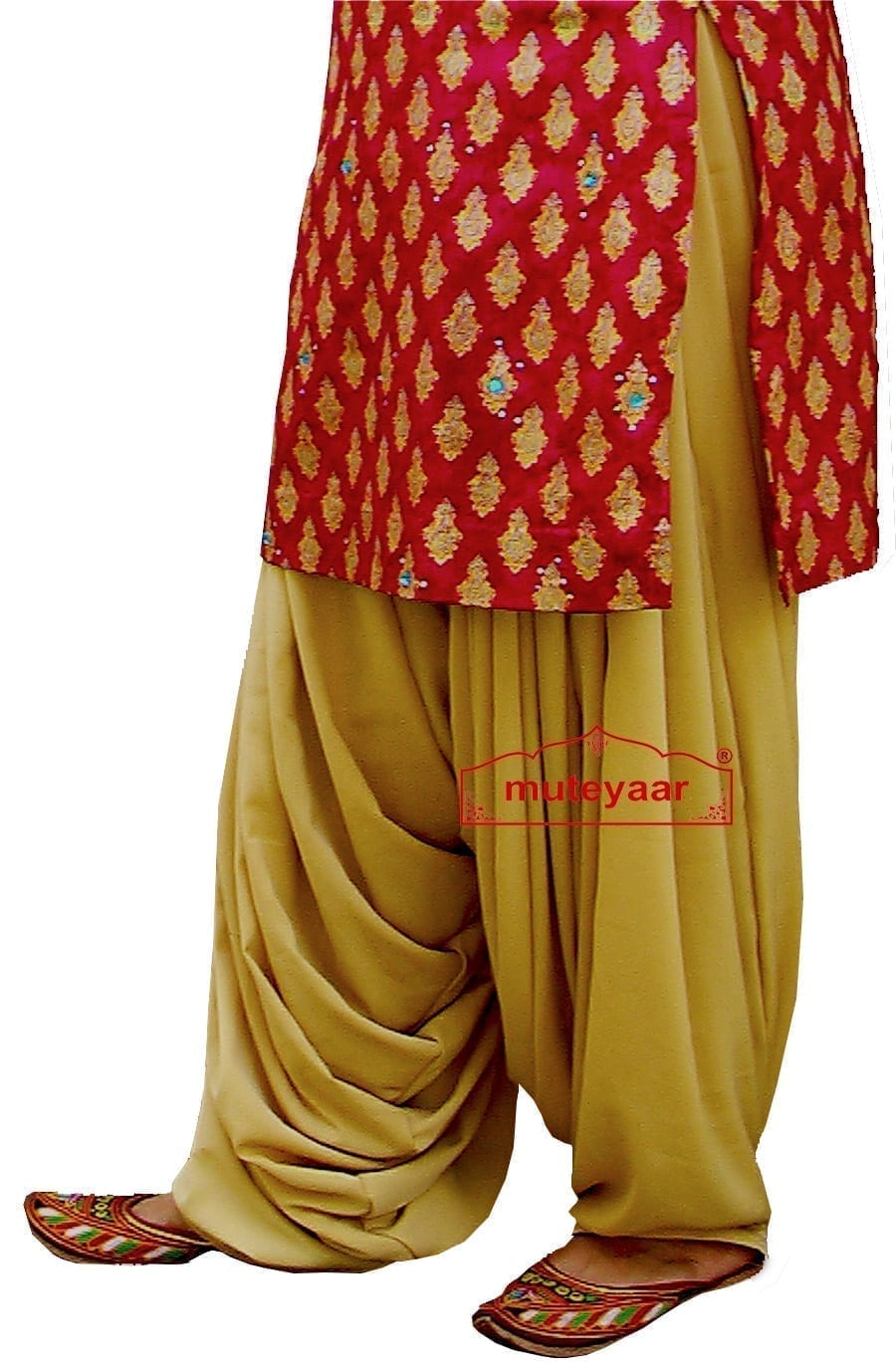 Heavy Patiala Salwar (Rani Patiala Salwar) from Patiala City !! 4