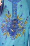Chanderi Cotton Embroided Pajami Suit Dupatta RM030