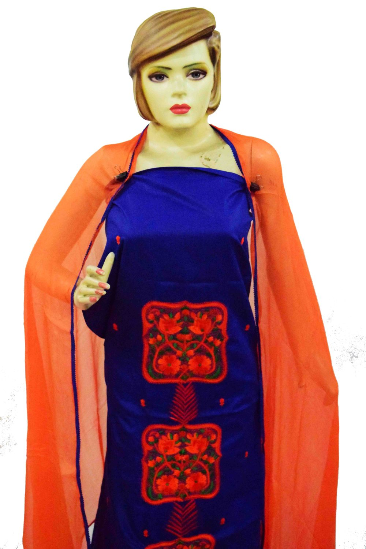 Cotton PATIALA Salwar Kameez Suit PURE CHIFFON Dupatta RM231 2