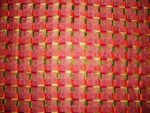 Glazed cotton Jaal Phulkari Hand Embroid Bed Cover set Z0033
