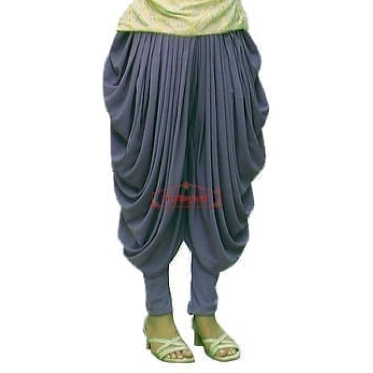 Crepe Dhoti Salwar custom made Baggy Pants as per your choice !!