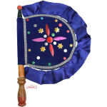 Punjabi Traditional Pakhi Hand Fan size 16 inch length T0236
