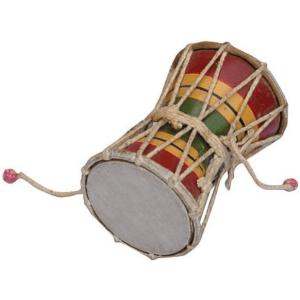 Damru – handmade musical instrument