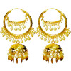 Bali Set Gold Polished Traditional Punjabi Earrings J0462