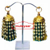 Jhallar Lotan Handicraft Jewelery earring set with Tassle phumans J0464