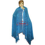 JAAL  PHULKARI Dupatta M/C Embroidered Party wear FAUX CHIFFON Chunni (PHD)