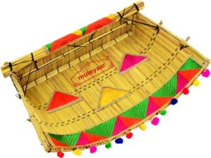 Phulkari Chhajj Giddha Prop for Punjabi Wedding Ceremony