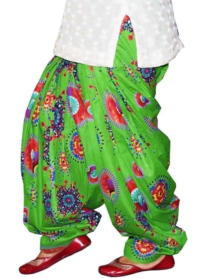 Limited Edition Printed 100%  Pure Cotton Full Patiala Salwar PPS210 1