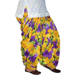 Printed Full Patiala Salwar Limited Edition 100% Soft Cotton Shalwar PPS245