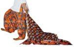 100% Pure Cotton FULL Patiala Salwar + matching cotton printed dupatta PSD154