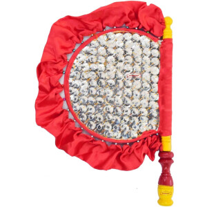 Traditional Punjabi Pakhi Hand Fan size 16 inch length T0227