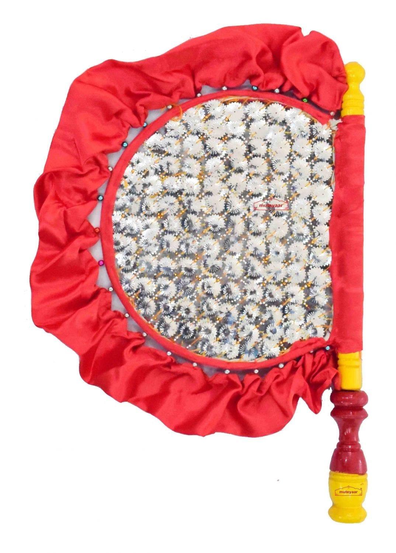 Traditional Punjabi Pakhi Hand Fan size 16 inch length T0227 1