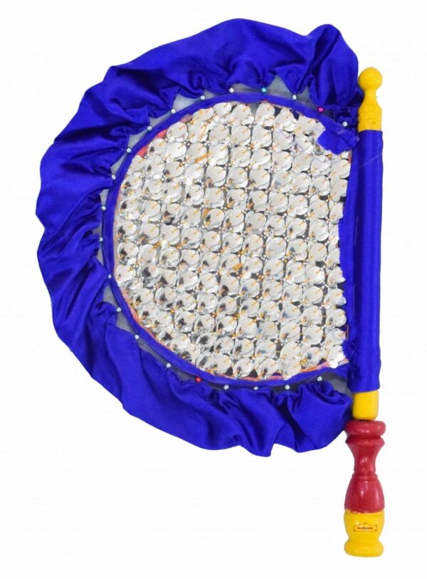 Traditional Punjabi Pakhi Hand Fan size 16 inch length T0229