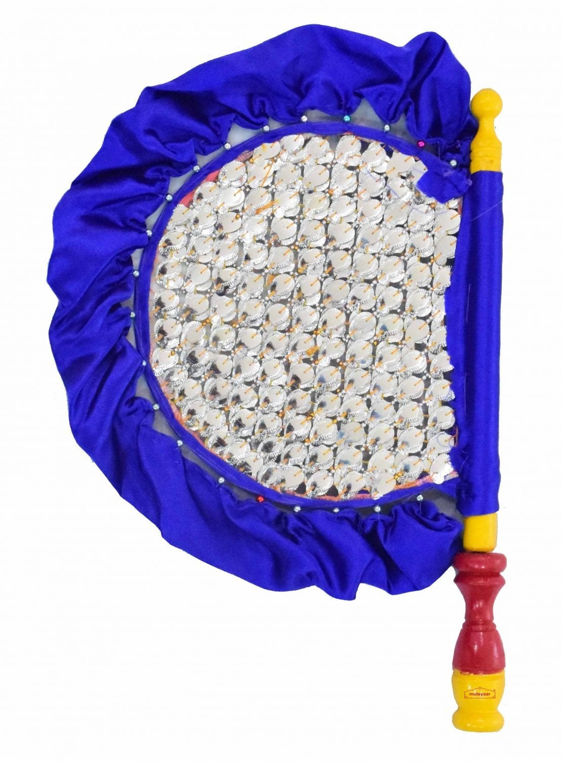 Traditional Punjabi Pakhi Hand Fan size 16 inch length T0229 1