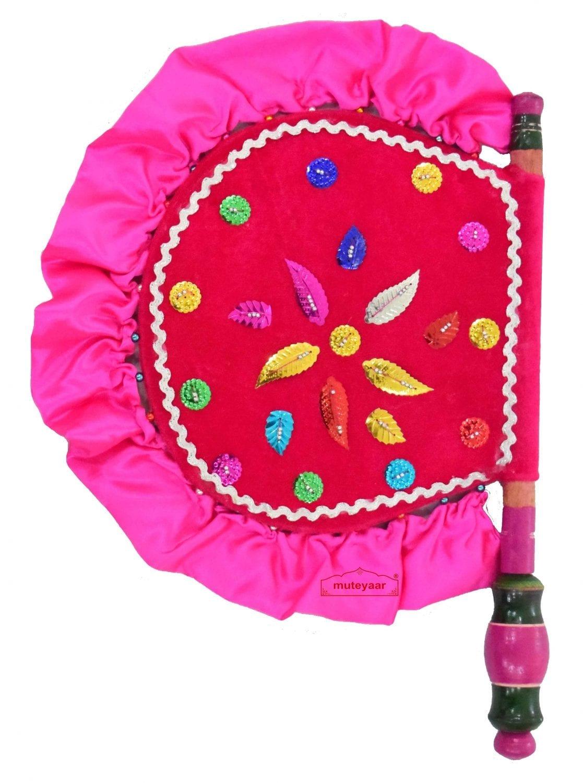 Punjabi Traditional Pakhi Hand Fan size 16 inch length T0235 1