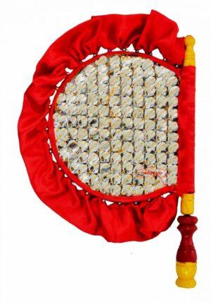 Punjabi Traditional Pakhi Hand Fan size 16 inch length T0237