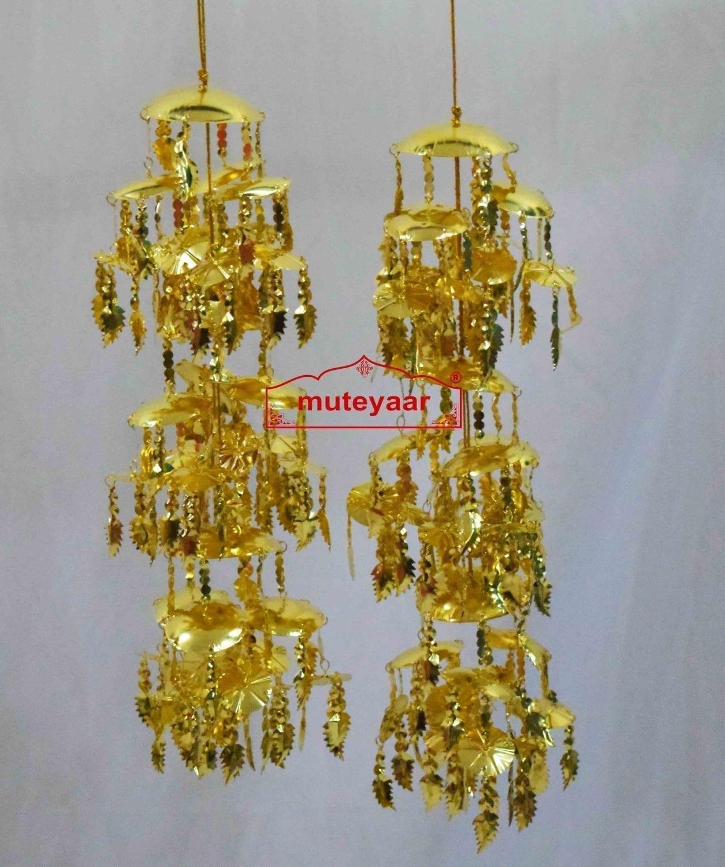Traditional Punjabi Large Size Kaleera for the Panjabi Bride 2