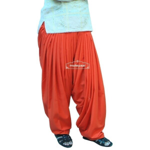 orange Patyala Shalwar/salwar direct from Patiala