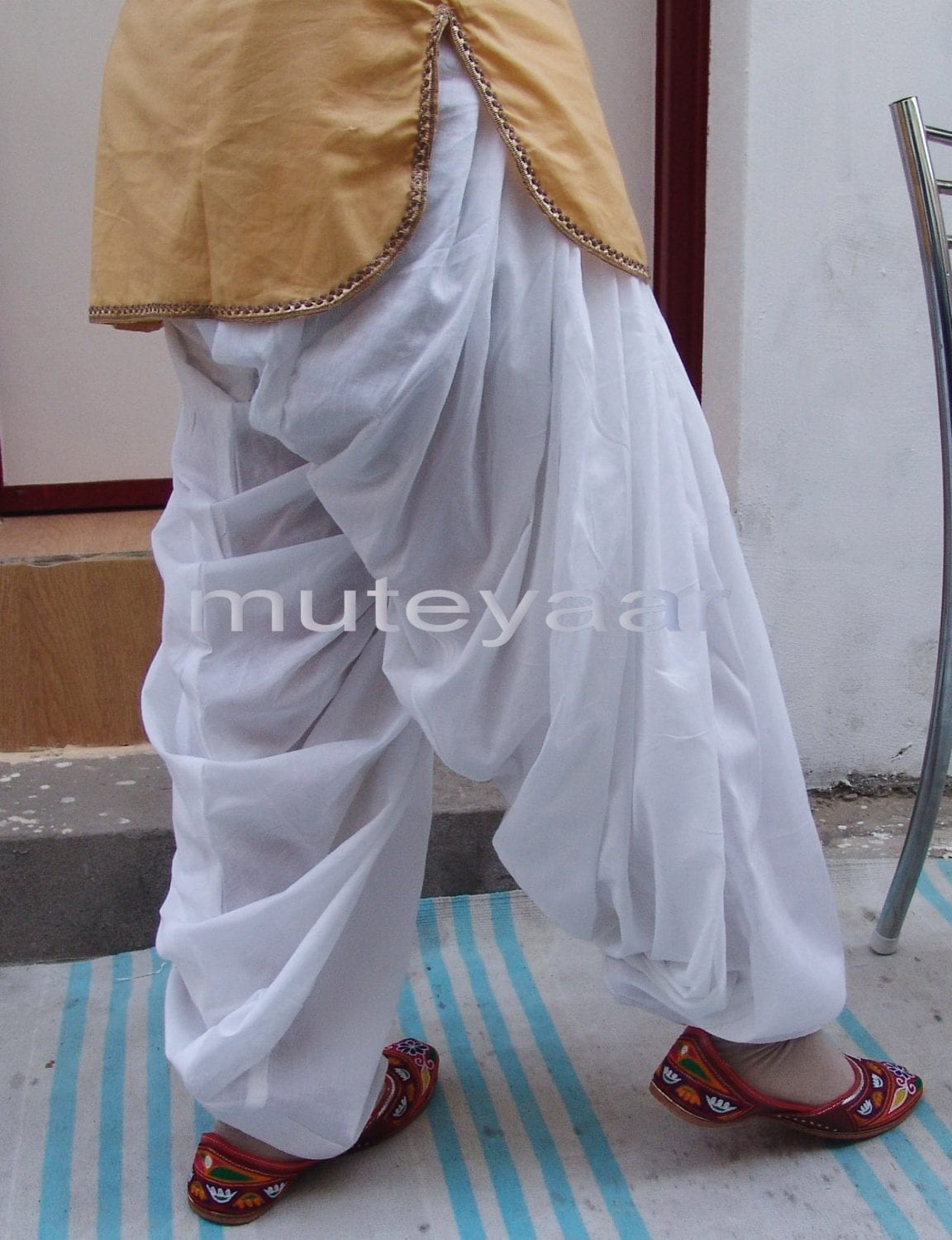 100% PURE COTTON PATIALA SALWAR shalwar from Patiyala City !! 2
