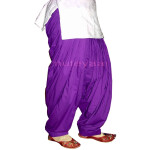 PURPLE 100% PURE COTTON Patyala salwaar from Patiala city !!