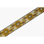 1 inch Wide Embroidered Lace 9 meters Long Piece LC208