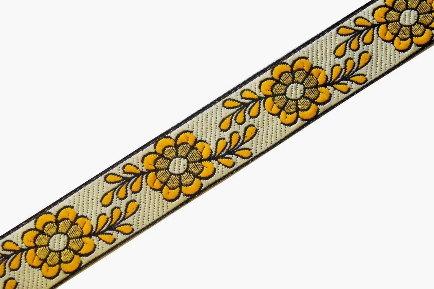 1 inch Wide Embroidered Lace 9 meters Long Piece LC208 1