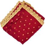 Golden Polka Print Dupatta Semi Chinon – Select Colour of your choice !!