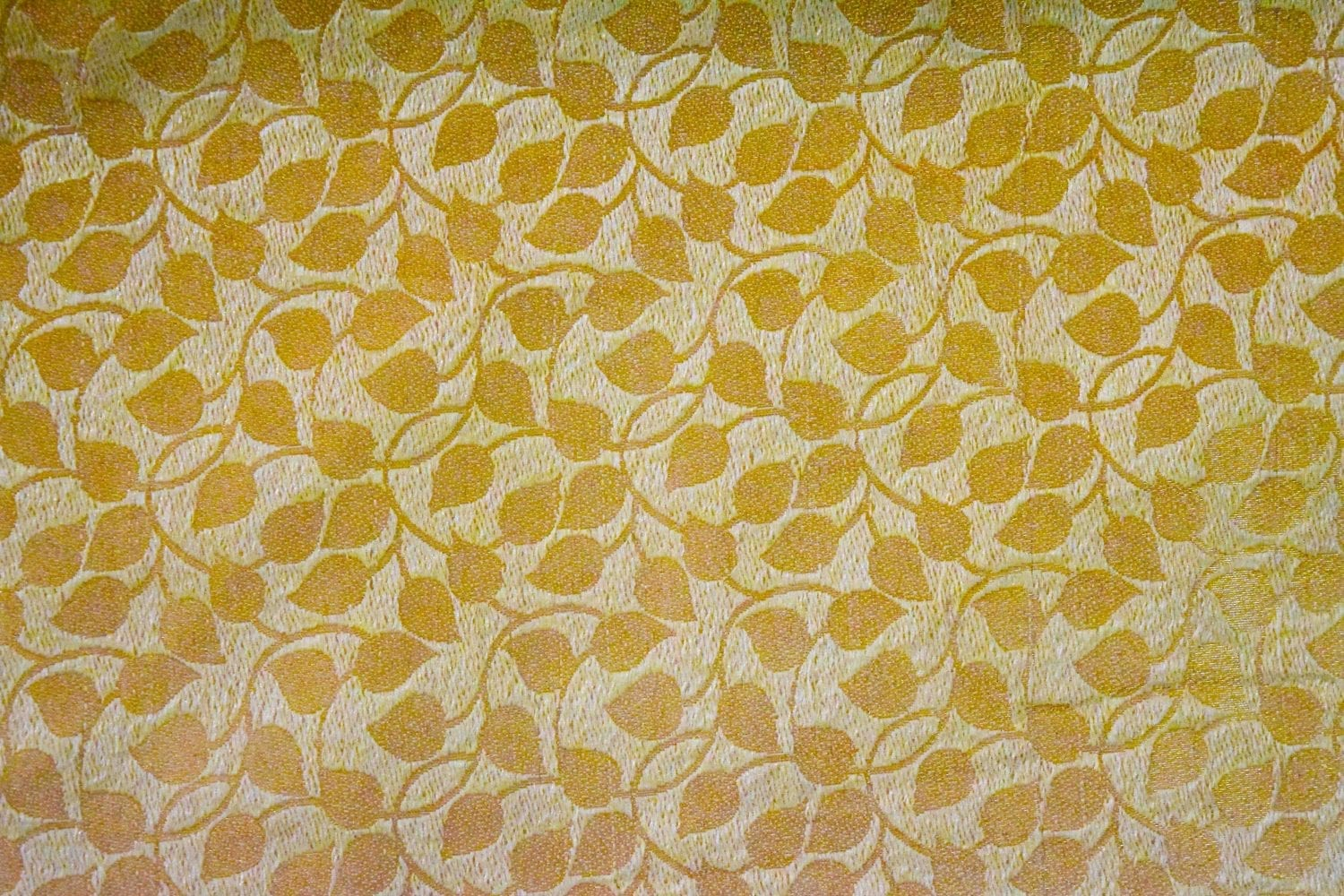 Golden Brocade Self Print fabric for multipurpose use BR001 (per meter price) 2