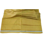 Golden Brocade Self Print fabric for multipurpose use BR001 (per meter price)