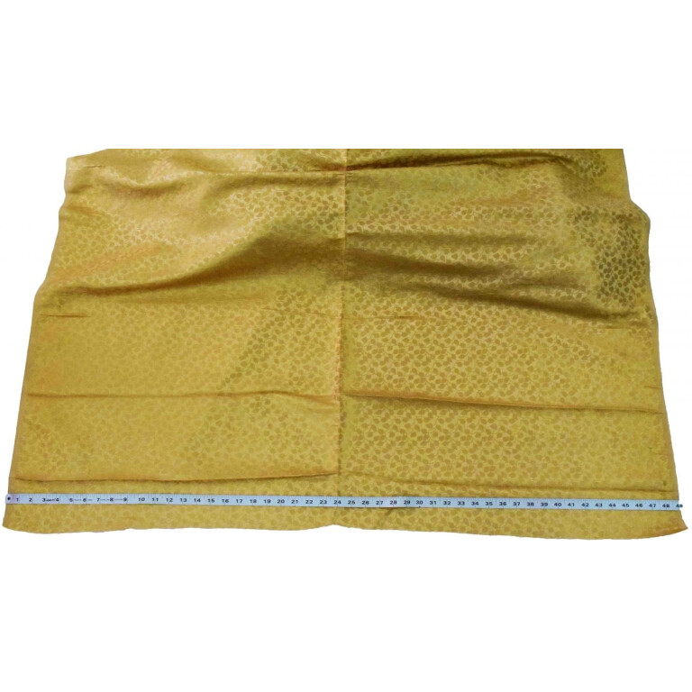 Golden Brocade Self Print fabric for multipurpose use BR001 (per meter price)