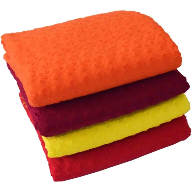 CHIKAN COTTON fabric - Soft Skin Friendly Dress Material