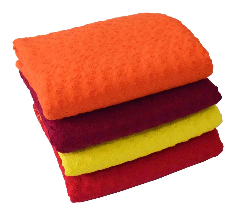 CHIKAN COTTON fabric - Soft Skin Friendly Dress Material 2