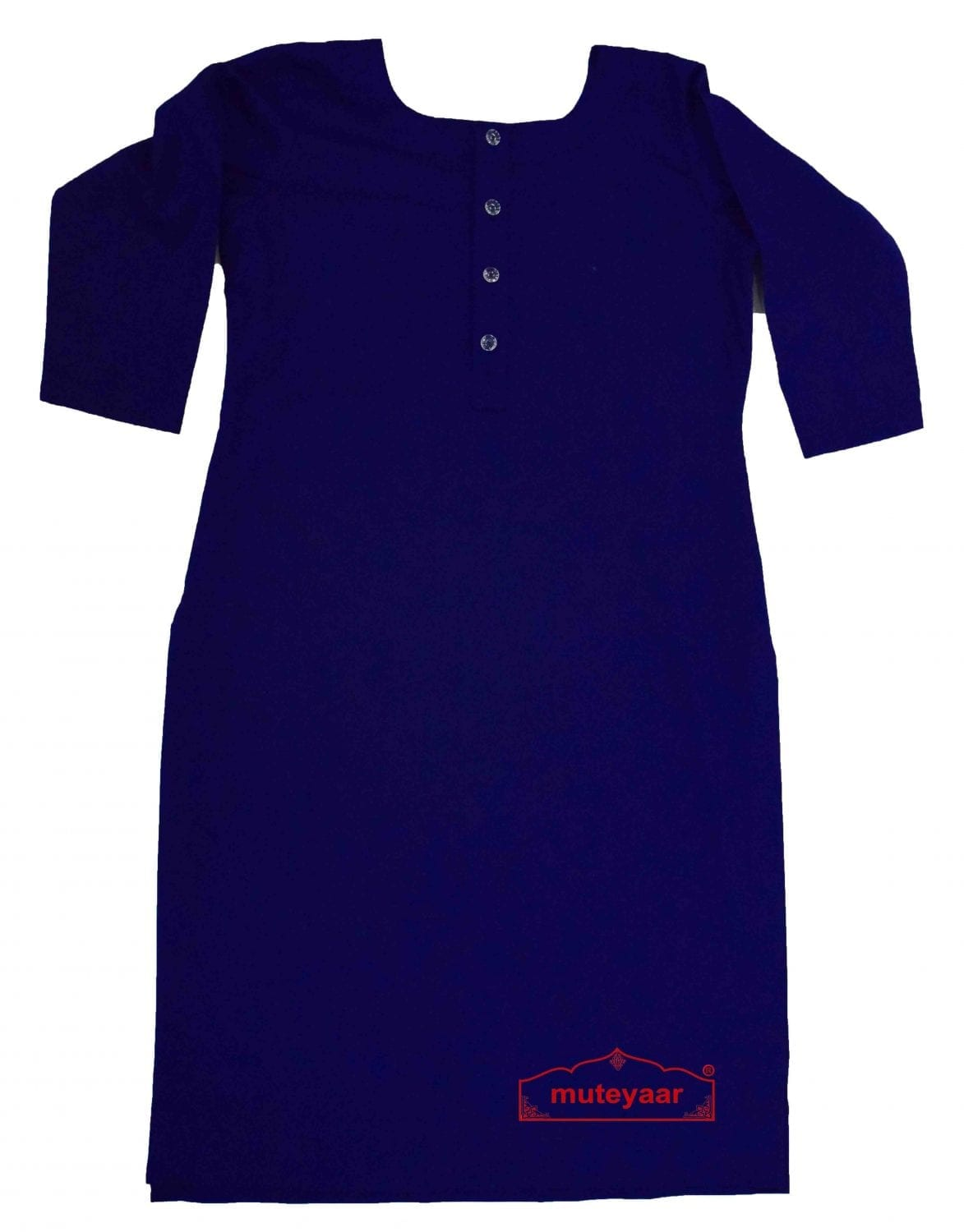 Chikan Kurti Allover embroidered Custom Stitched Cotton Top 5