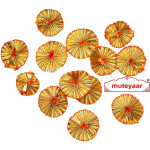 Gota Tikki Flower Patasa – Pack of 30 pcs.