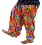 Limited Edition Printed 100%  Pure Cotton Full Patiala Salwar PPS113
