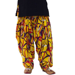 Limited Edition Printed 100%  Pure Cotton Full Patiala Salwar PPS118