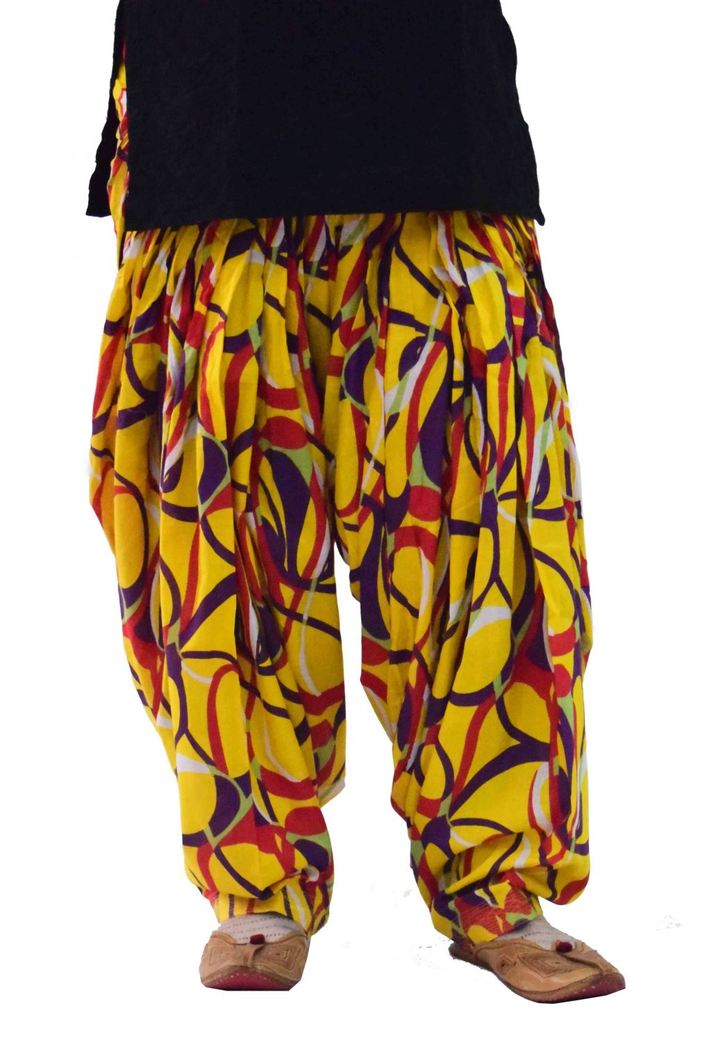 Limited Edition Printed 100%  Pure Cotton Full Patiala Salwar PPS118 1