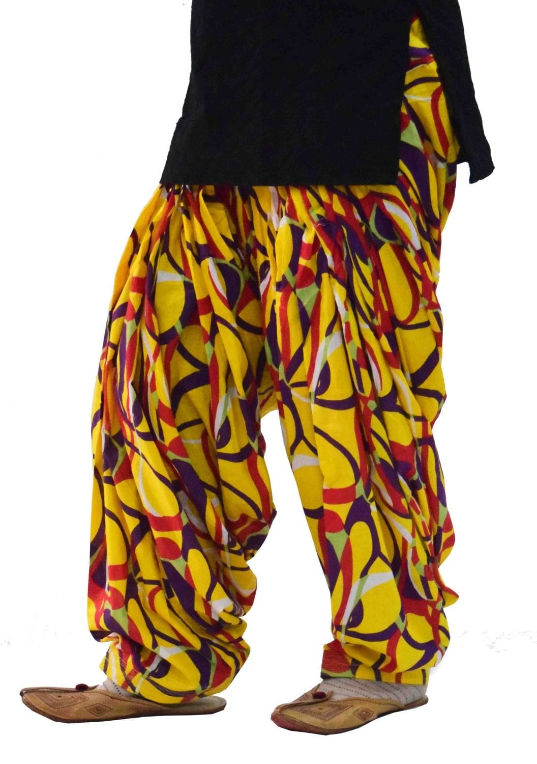 Limited Edition Printed 100%  Pure Cotton Full Patiala Salwar PPS118 2