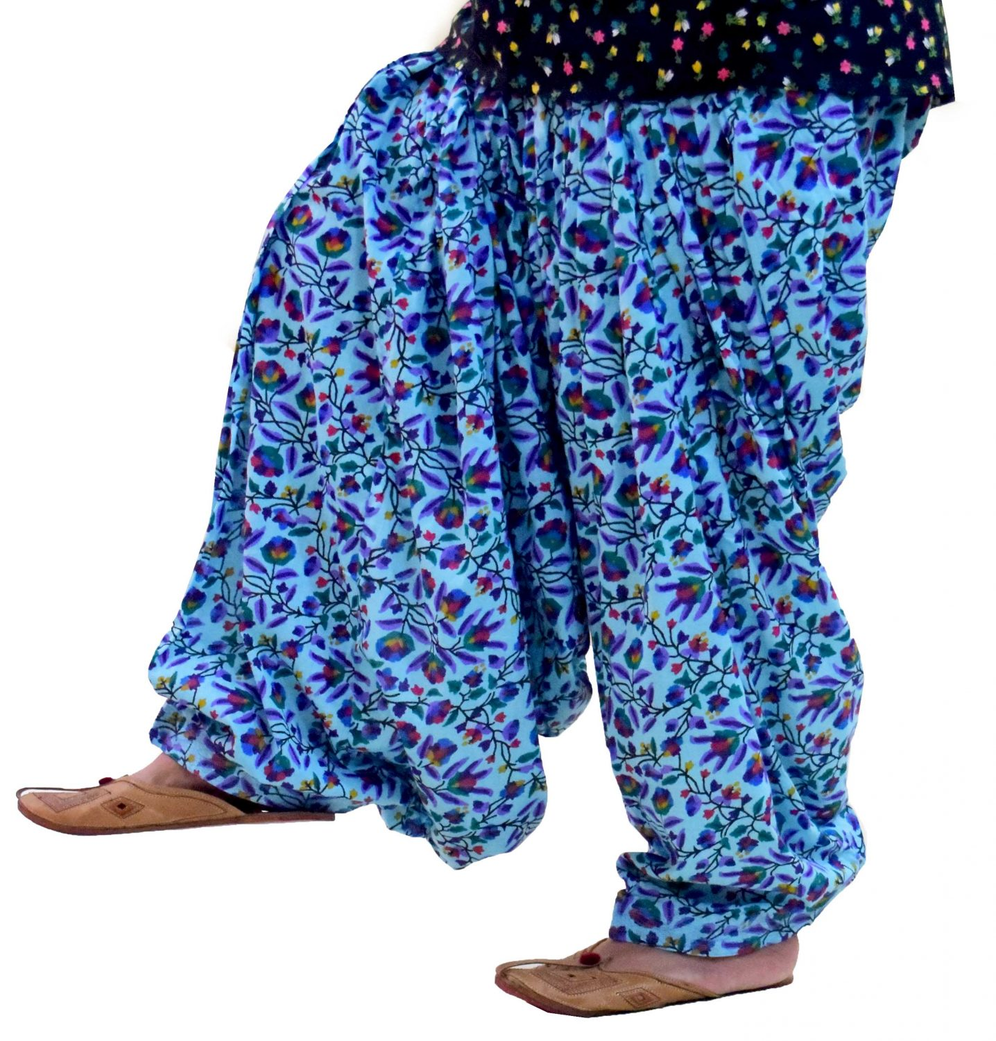 Limited Edition Printed 100%  Pure Cotton Full Patiala Salwar PPS174 1
