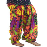 Limited Edition Printed 100%  Pure Cotton Full Patiala Salwar PPS194