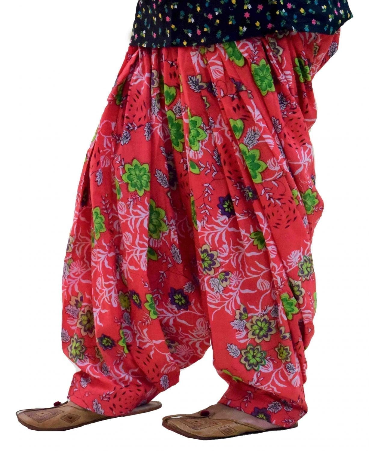 Limited Edition Printed 100%  Pure Cotton Full Patiala Salwar PPS198 1