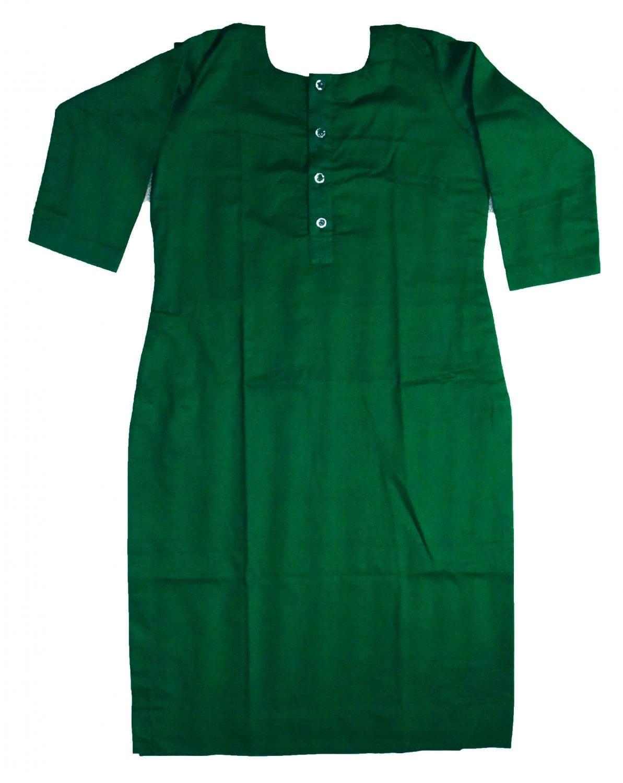 Custom Stitched Plain Cotton Kurti Top Tunic Shirt 2