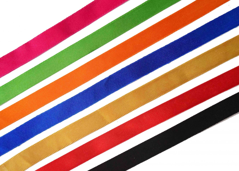 Satin Silk Ribbon Lace LC010 half inch width Roll of 18 mtrs. 2