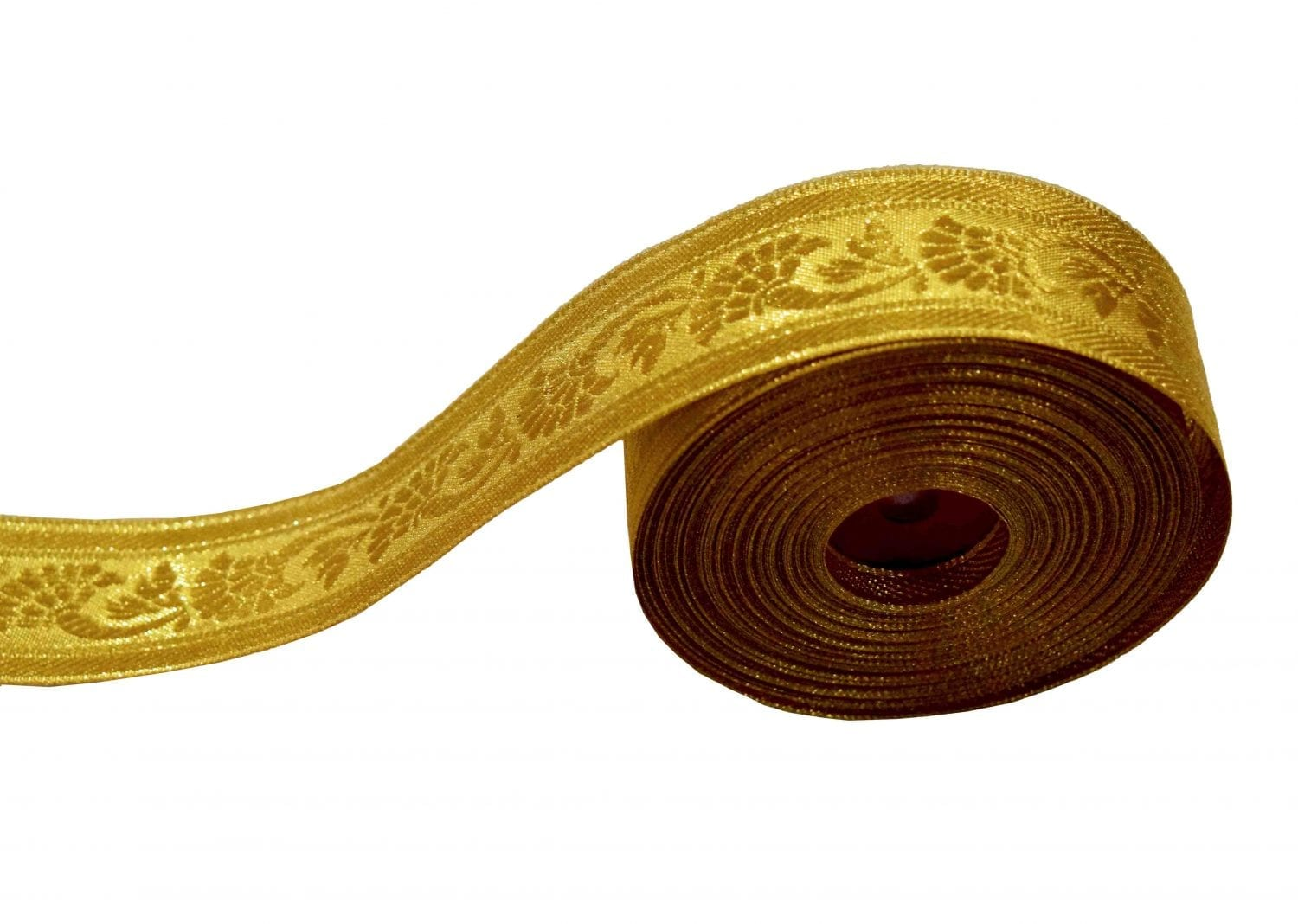 Golden Gota Border Lace 4 cm wide Roll of 16 mtrs. 1