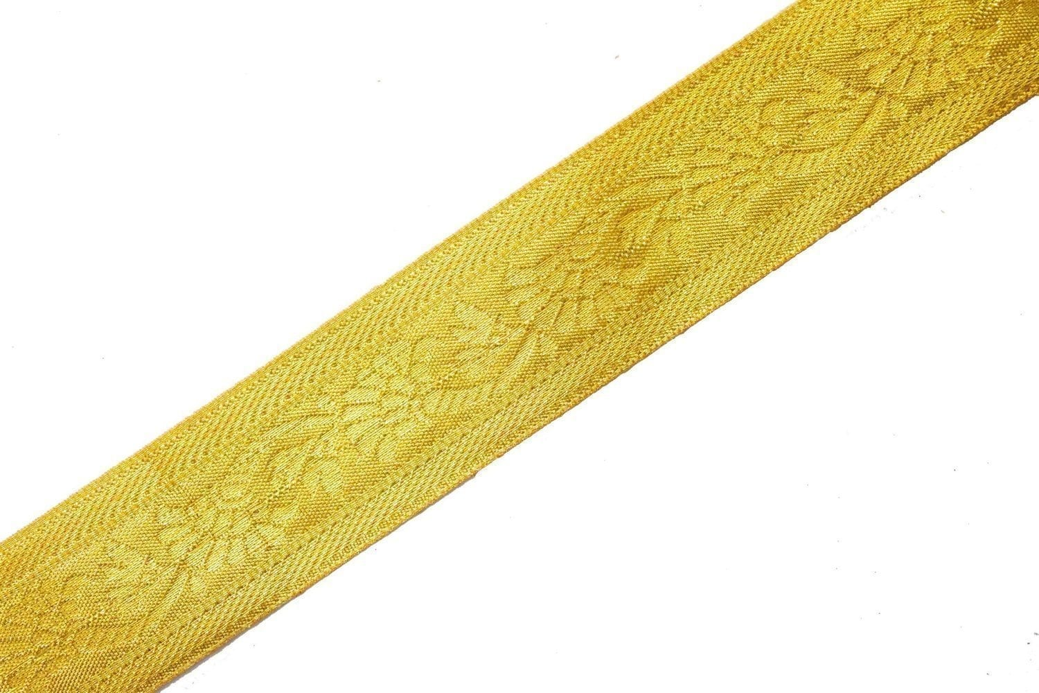 Golden Gota Border Lace 4 cm wide Roll of 16 mtrs. 2