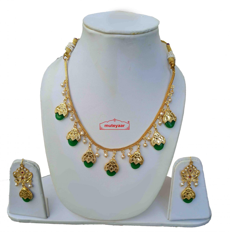 Punjabi Traditional Dakh Set Imitation Jewellery 2