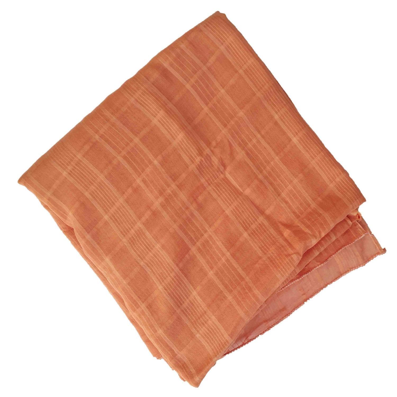 Cotton Doria Dupatta 100% pure soft cotton chunni with self design 8