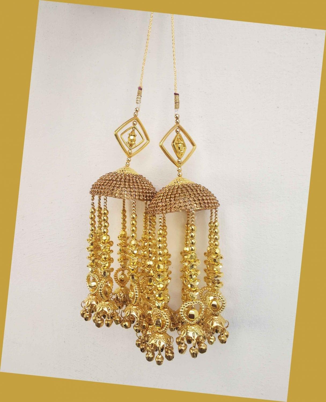 Punjabi Wedding Fancy Kaleera / Kalira for Bride J0914 1