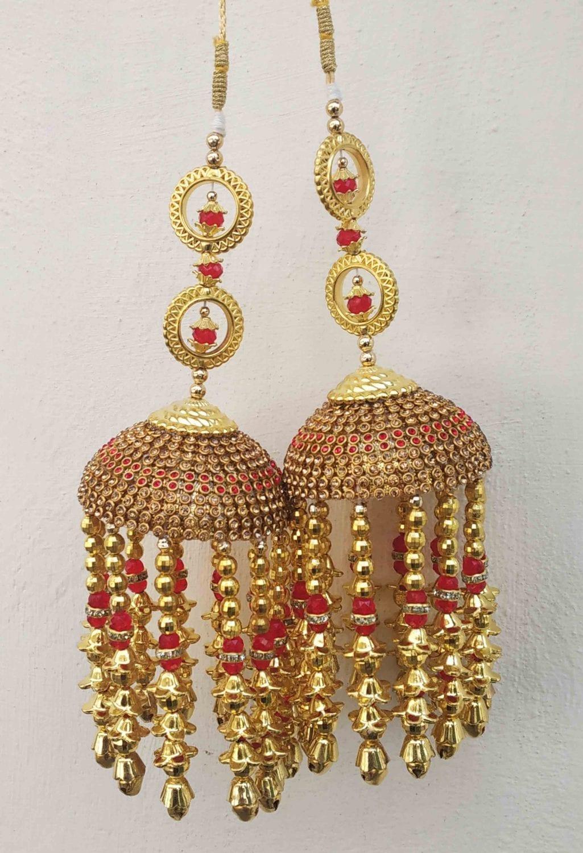 Punjabi Wedding Fancy Kaleera / Kalira for Bride J0917 1