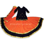 Custom made Lehenga for Giddha – Costume outfit dance dress